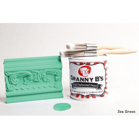 Old Fashioned Paint - Sea Green (Sea Foam Green) - Granny B's Old Fashioned Paint