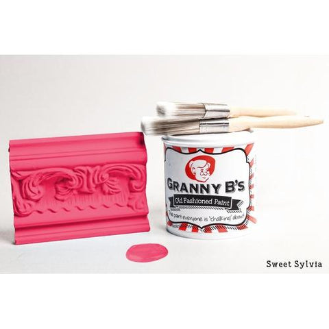 Old Fashioned Paint - Sweet Sylvia (hot pink) - Granny B's Old Fashioned Paint