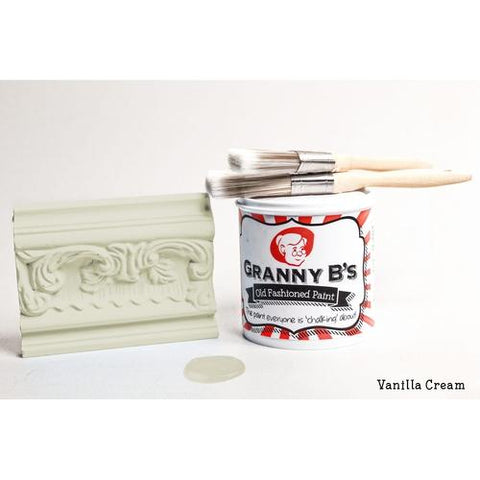 Old Fashioned Paint - Vanilla Cream (Off White Cream) - Granny B's Old Fashioned Paint