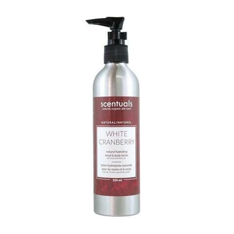 Scentuals White Cranberry Hand & Body Lotion 8.45 oz