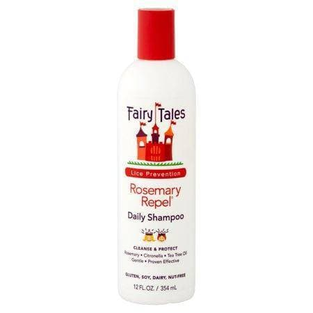 Fairy Tales Rosemary Repel Daily Kid Shampoo for Lice Prevention, 12 Fl Oz
