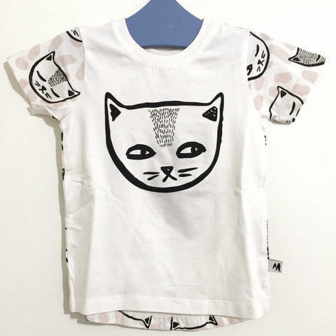 Cheeky Cats Short Sleeve Tee