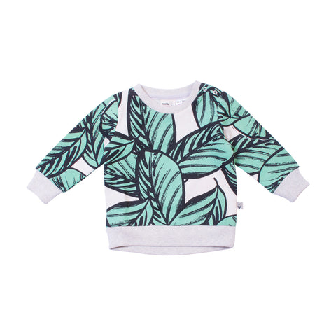 Jungle Fern Crew Neck Jumper