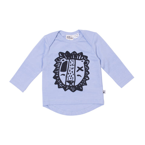 Lion Blue Long Sleeve Tee