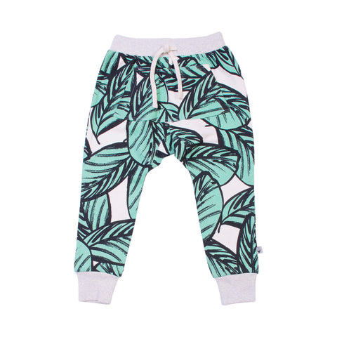 Jungle Fern Trackies with Joey Pocket