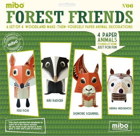 Paper Toy - The Forest Friends