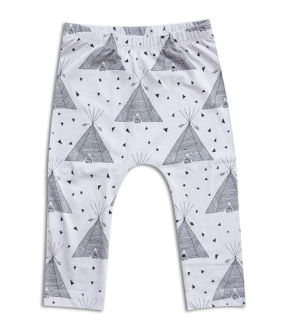 Tee Pee Drop Crutch Leggings