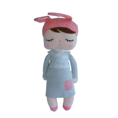Sleepy Doll - Pink + Grey