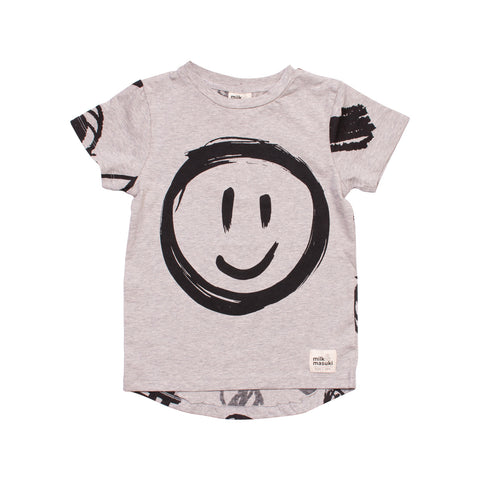 Smiley Face Short Sleeve Tee