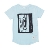 Mixed Tape Short Sleeve Tee