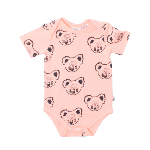 Koala Short Sleeve Body Suit