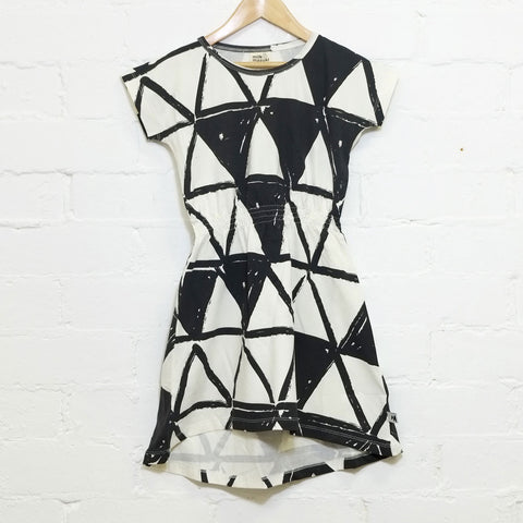 Triangles Tee Dress