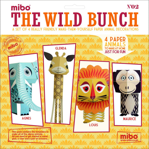 Paper Toy - The Wild Bunch