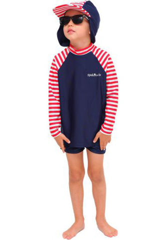 Nautical Mischief Long Sleeve Shirt/Pants/Hat Set