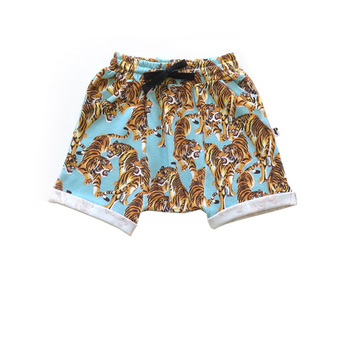 The Year Of The Tiger Blue Lincoln Shorts