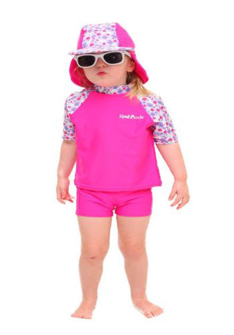 Strawberry Kisses Short Sleeve Shirt/Pants/Hat Set