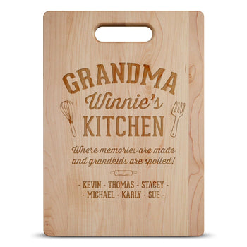 Memories Are Made - Personalized Cutting Board