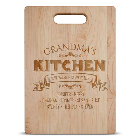Love Baked Into Every Bite - Personalized Cutting Board