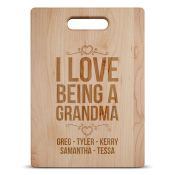 I Love Being A (Custom Name) - Personalized Cutting Board - Cutting Boards