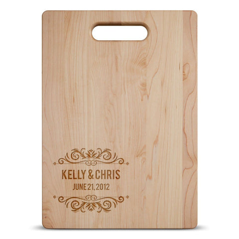 Couple Anniversary - Personalized Cutting Board - Cutting Boards