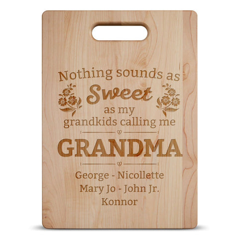 Nothing Sounds As Sweet - Personalized Cutting Board