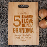 Reasons I Love - Personalized Cutting Board - [variant_title]