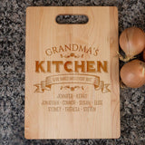 Love Baked Into Every Bite - Personalized Cutting Board - [variant_title]