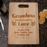 Another Word For Love - Personalized Cutting Board - Cutting Boards