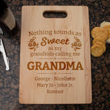 Nothing Sounds As Sweet - Personalized Cutting Board - [variant_title]
