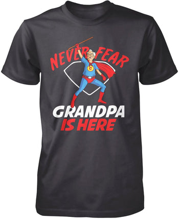 Never Fear (Nickname) Is Here - T-Shirt - Premium T-Shirt / Dark Heather / S