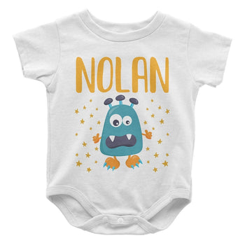 Little Monster - Personalized Baby Bodysuit