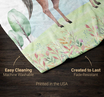 Wild Horse - Personalized Blanket - [variant_title]