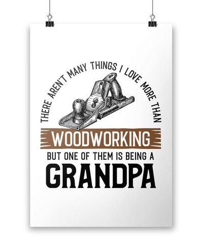 This (Nickname) Loves Woodworking - Personalized Poster