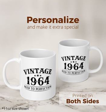 Vintage (Your Birth Year) - Custom Mug - [variant_title]