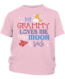 Grammy Loves Me to the Moon and Back - Children's T-Shirt