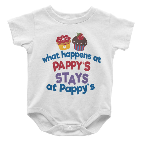 What Happens At Pappys - Baby Onesie