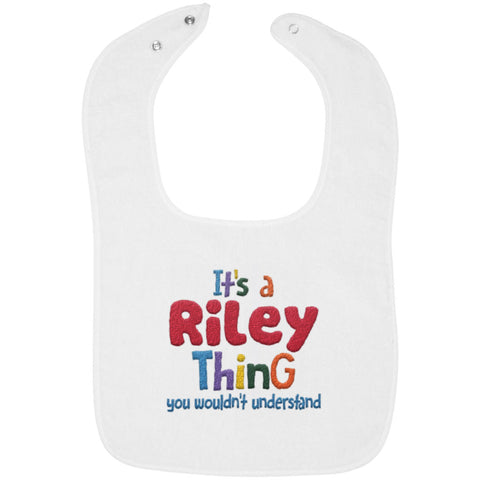 It's a (Baby's Name) Thing - Custom Embroidered Bib