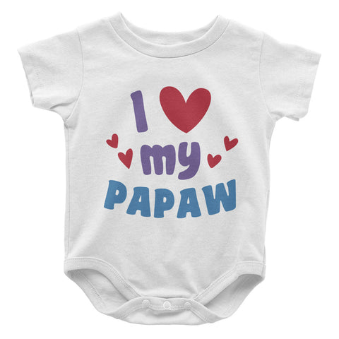 I Love My Papaw - Baby Onesie