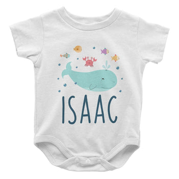 Under the Sea - Personalized Baby Bodysuit
