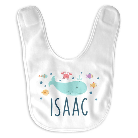 Under the Sea Personalized Infant Baby Bib