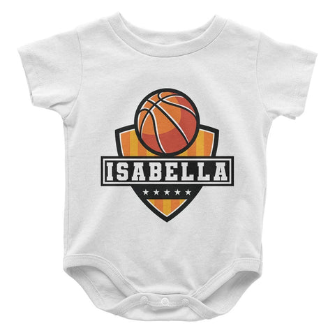 Basketball - Personalized Baby Bodysuit - Baby Apparel