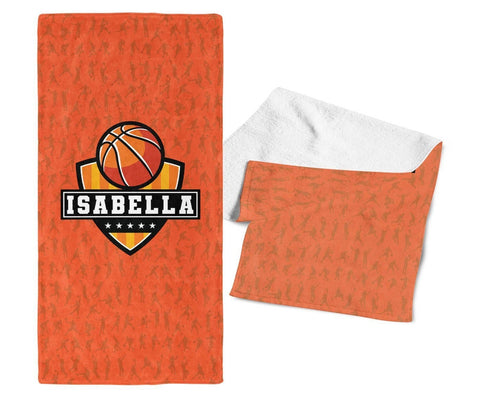 Basketball - Personalized Towel - Towels