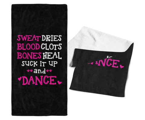 Suck It Up and Dance - Gym / Kitchen Towel
