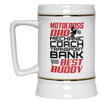 Jobs of a Motocross Dad - Beer Stein - [variant_title]