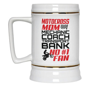 Jobs of a Motocross Mom - Beer Stein - [variant_title]