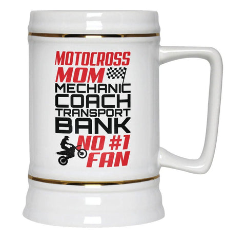 Jobs of a Motocross Mom - Beer Stein