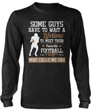 Favorite Football Player - Mine Calls Me Dad Long Sleeve T-Shirt