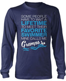 Favorite Swimmer - Mine Calls Me Gramps