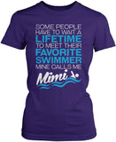 Favorite Swimmer - Mine Calls Me Mimi