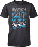 Favorite Swimmer - Mine Calls Me Oma